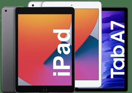 Samsung Tab A7 oder Apple iPad